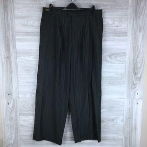 Giorgio Fiorelli Wide Leg Striped Pants